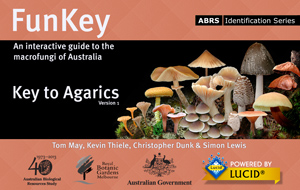 FunKey: Key to Agarics, an interactive key and