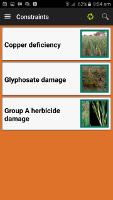 MyCrop Wheat app - Remaining                     Contraints